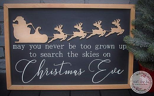 Amazon.com: Cartel divertido de Navidad de 7.9 x 11.8 in con ...
