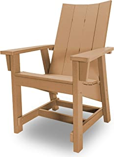 product image for Hatteras Hammocks Cedar Conversation Chair, Eco-Friendly Durawood, All Weather Resistance, Fit 'N' Finish Handcrafted in The USA …