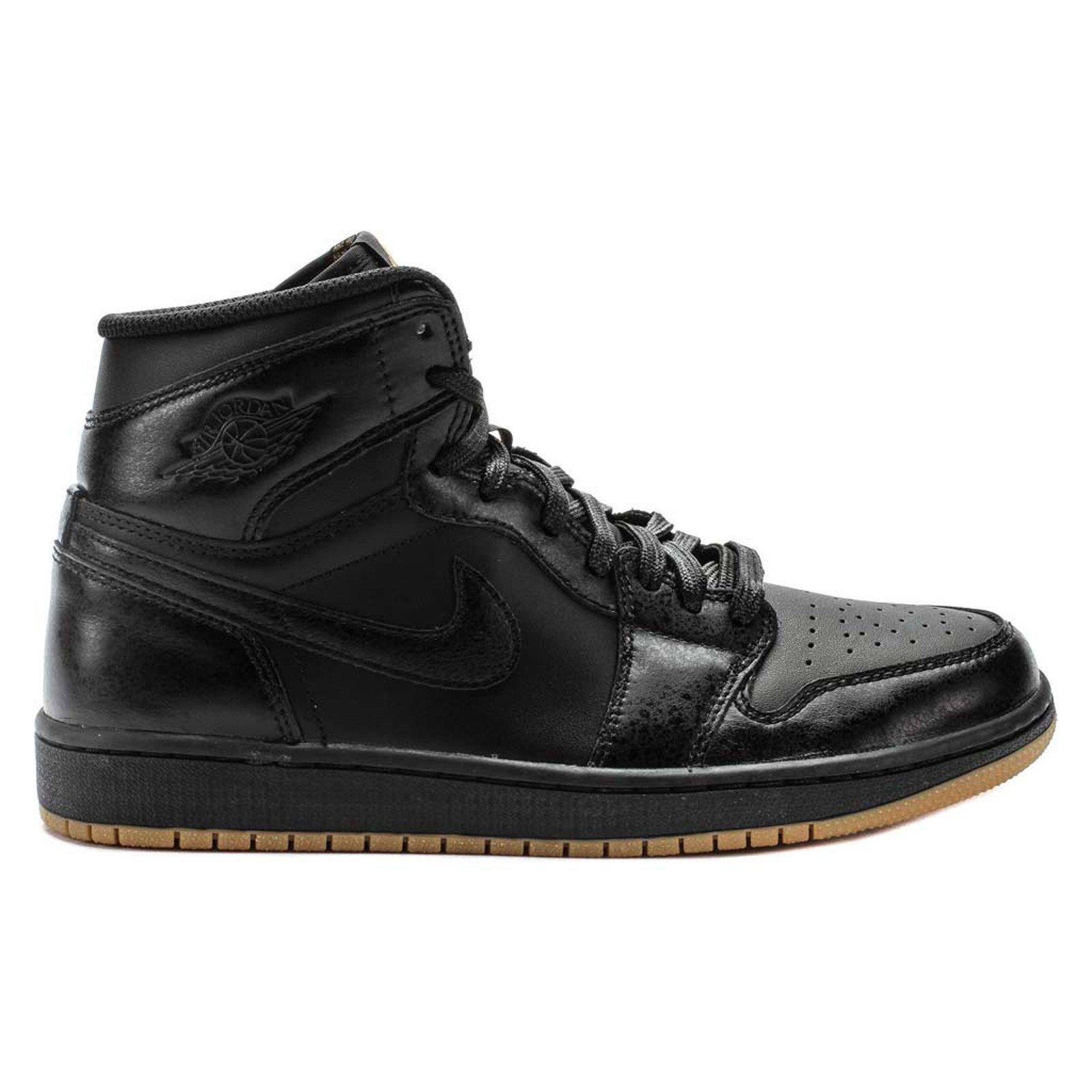 Nike Air Jordan 1 RETRO High OG Basketball Shoes black, EU Shoe Size:EUR 36 by Jordan