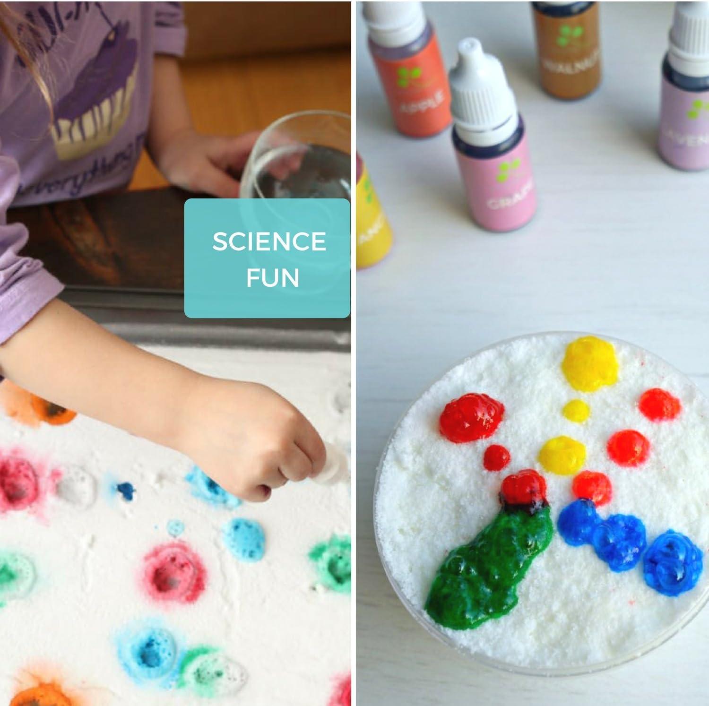 Natural Skin Safe Food Coloring - 4.3 oz - Vegan, Baby Friendly, Gluten  Free - Slime - Bath Bomb Colorant - Bath Salt - Perfect Soap Making  Supplies ...