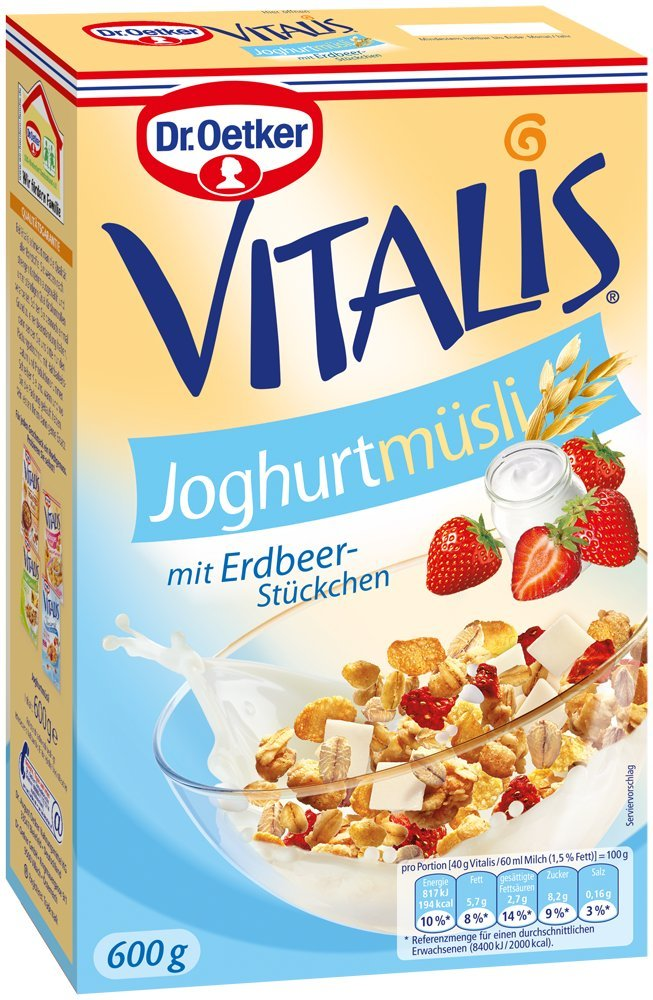Dr. Oetker Müsli amazon
