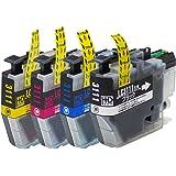 【インクのチップス】ブラザー 用 LC3111 互換インク 【 4色セット 】 ISO14001/ISO9001認証工場生産商品 残量表示対応ICチップ 1年保証 対応機種:DCP-J982N-W / DCP-J982N-B / DCP-J582N / MFC-J903N / DCP-J978N-B / DCP-J978N-W / DCP-J973N / DCP-J972N / DCP-J577N / DCP-J572N / MFC-J898N / MFC-J893N / MFC-J998DN / MFC-J998DWN / MFC-J738DN / MFC-J738DWN