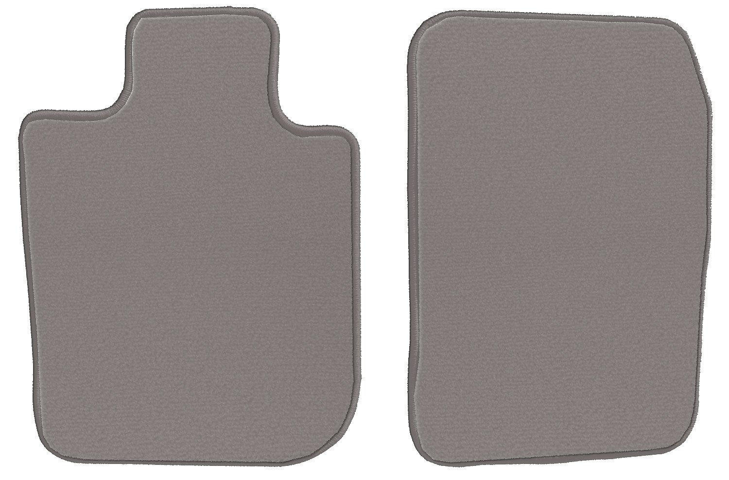 1999 2001 2002 GGBAILEY Dodge Durango 1998 2000 2003 Grey Loop Driver /& Passenger Floor Mats
