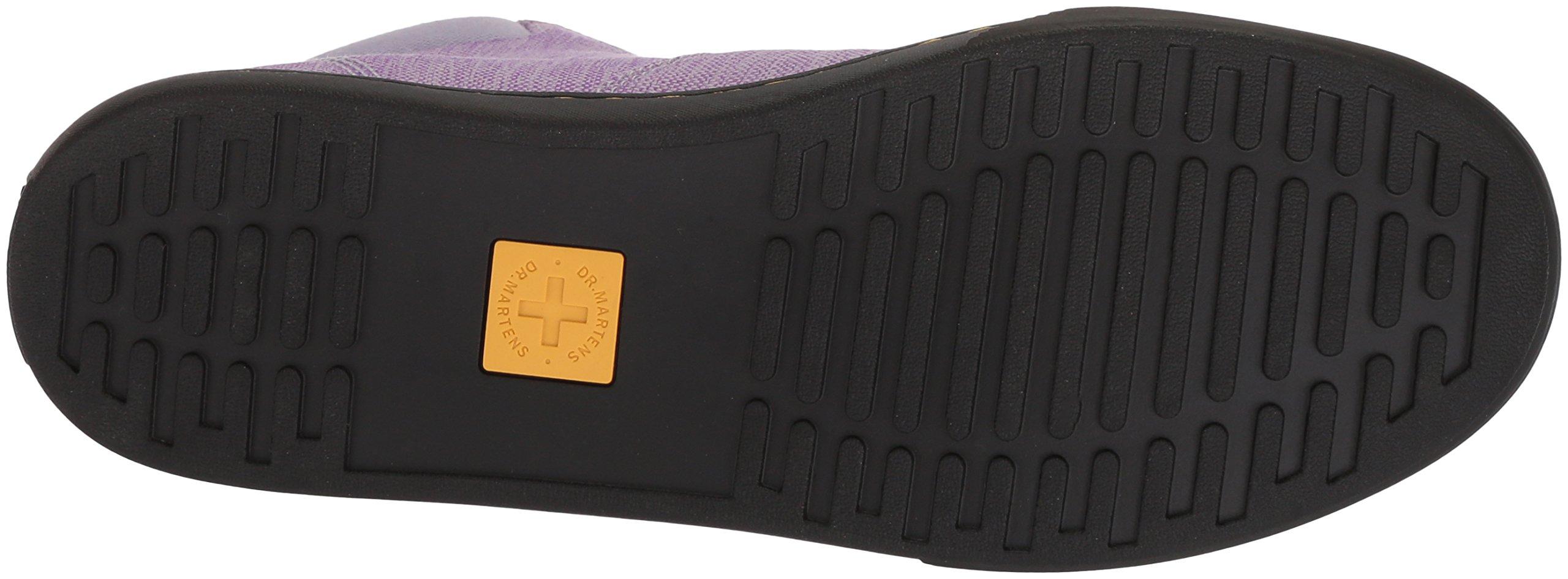 Dr. Martens Women's Maegley Fashion Boot, Purple Heather Woven Textile+Fine Canvas, 6 Medium UK (8 US) by Dr. Martens (Image #3)