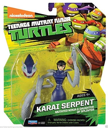 Amazon.com: Teenage Mutant Ninja Turtles Karai serpiente ...