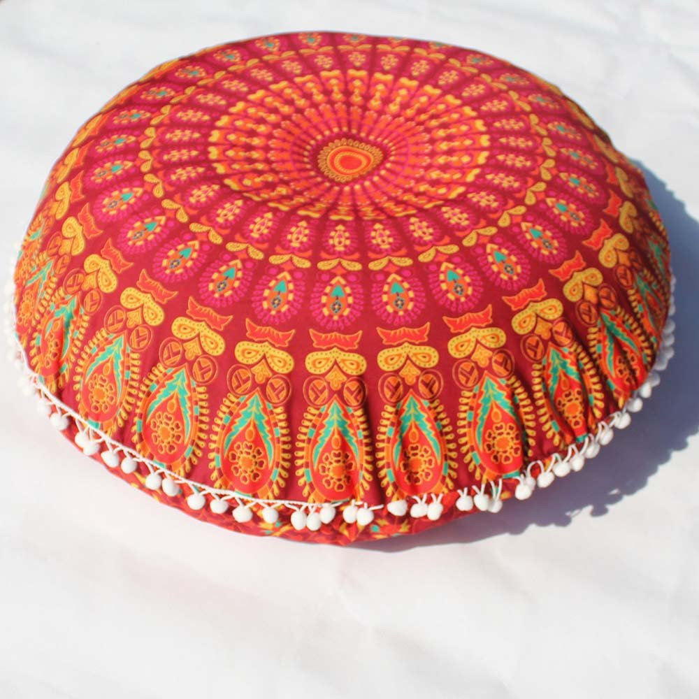 Amazon.com: Close-dole Indian Turquoise Floor Pillow Cushion ...