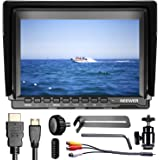 Neewer NW74K 7 Inch Ultra HD 4K 1280x800 IPS Screen Camera Field Monitor, 16:10 or 4:3 Adjustable Display Ratio for Sony Canon Nikon Olympus Pentax Panasonic Cameras (Power And Battery not included)