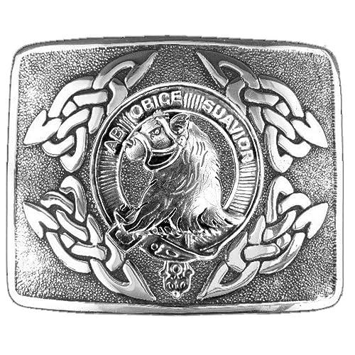 Amazoncom Galbraith Scottish Clan Crest Kilt Buckle Handmade