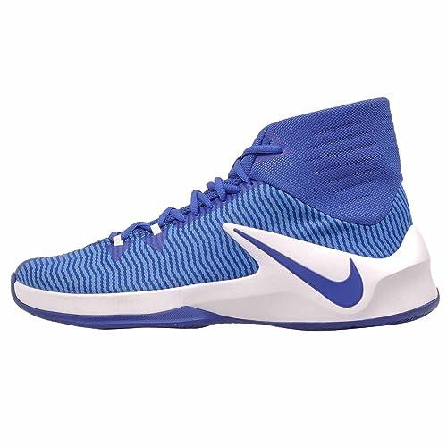 Zapatillas de baloncesto Nike Zoom Out para hombre (Royal ...