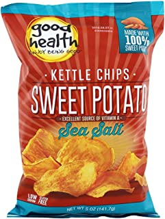 product image for Sea Salt Sweet Potato Chips 5 Ounces (Case of 12)