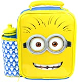 Despicable Me Minions Deluxe Vertical Lunch Bag/Box and 500ml Bottle Set