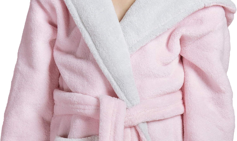 fabriqu/é dans lUE ENVIE Souple Robe de Chambre//Peignoir gar/çon//Fille avec Capuche