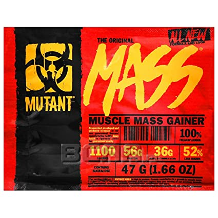 Mutant Mass Muscle Mass Gainer 47g Sachet Sample - Chocolate Fudge Brownie