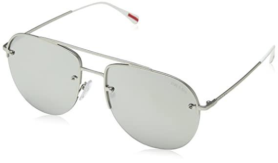 f6767e9e3b666 Amazon.com  Prada Linea Rossa Men s PS 53SS Sunglasses 59mm  Clothing