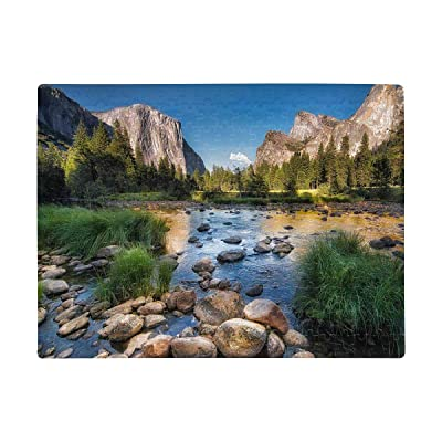 Personalized Jigsaw Puzzles, The Yosemite National Park Landscape Puzzles Rectangle Printed Photo Art Jigsaw Puzzle for Adults Children Learning Education Birthday Present A3 Size 252 Pieces: Toys & Games