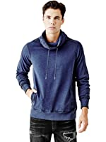GUESS Claxton Funnel-Neck Pullover Sweatshirt
