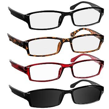 0f24cc347cd8 Reading Glasses 2.5 Black Tortoise Red Sun Black Readers for Men   Women - Spring  Arms