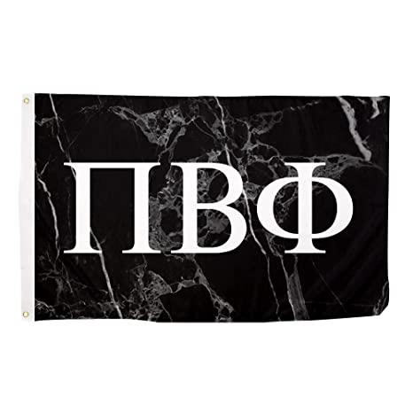 pi beta phi dark marble sorority letter flag banner 3 x 5 sign decor pi phi