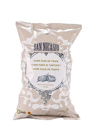 Patatas Fritas SAN NICASIO Flor de Trufa Caja de 14 bolsas de 150gr