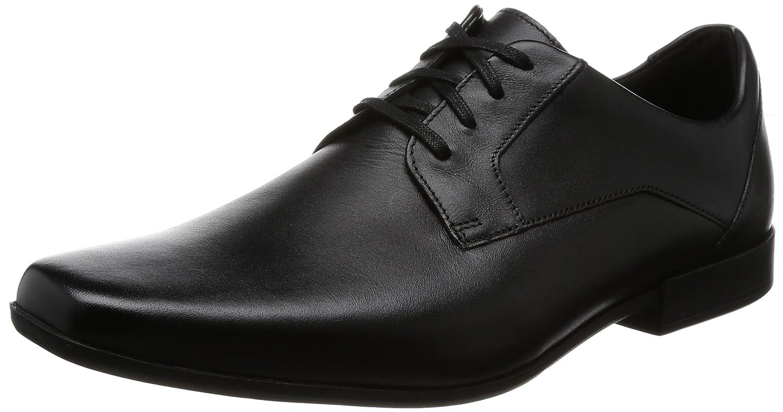 TALLA 42 EU. Clarks Glement Lace, Zapatos de Cordones Derby para Hombre