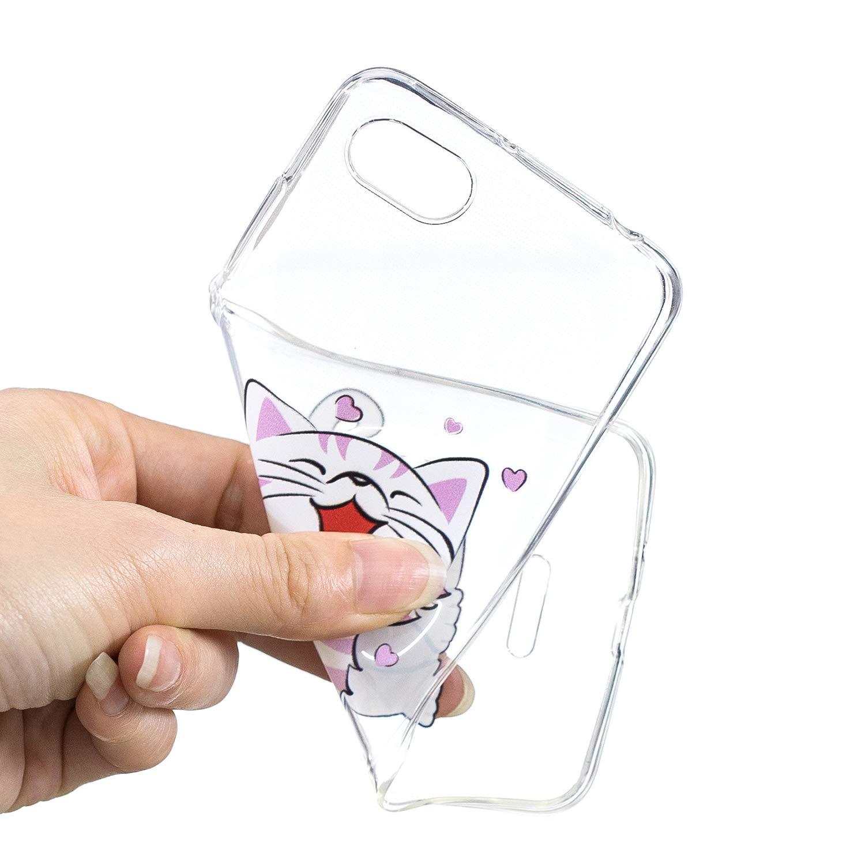 Kopf Klassikaline Redmi 6A H/ülle Die Sterne Case f/ür Xiaomi Redmi 6A Handy H/ülle Schutzh/ülle Handytasche Cover Case Weiche TPU Silikon Schlank Flexibel Handy Tasche Malerei Muster Serie