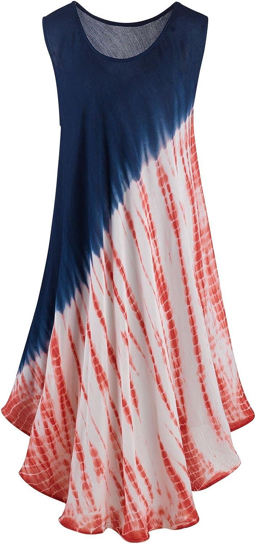 TyeDye t-shirt material striped summer//beach dress,12