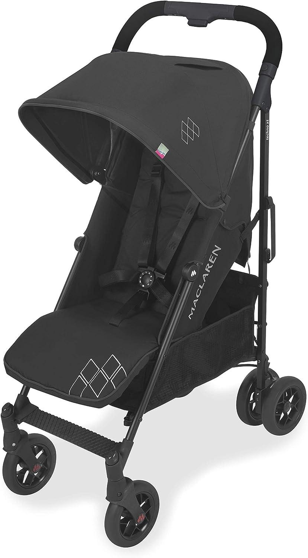 Maclaren Techno Arc Silla de paseo - Para niños desde el nacimiento hasta los 25 kg. Capota extensible e impermeable con FPU 50+, asiento multiposición y suspensión en las cuatro ruedas