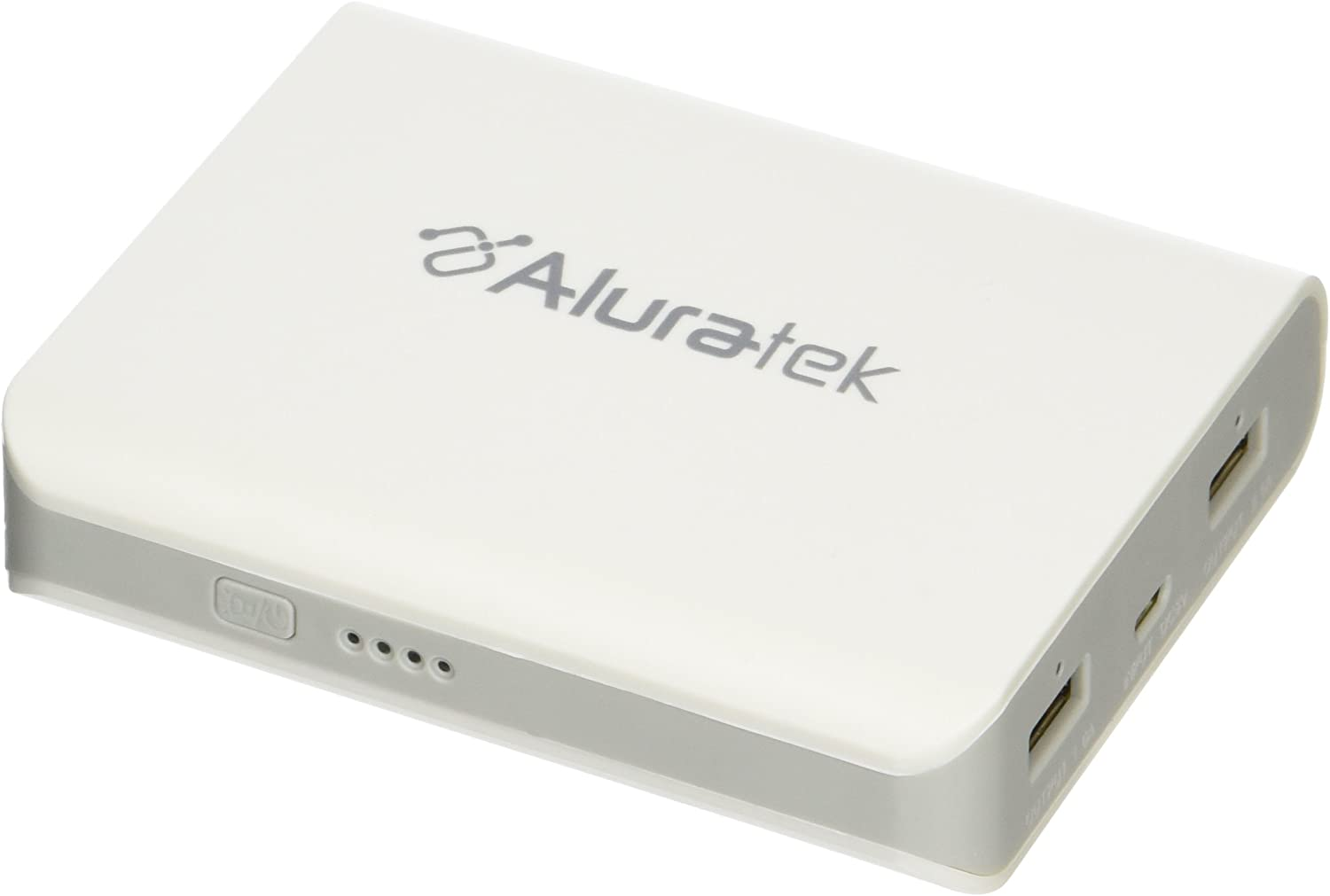 Aluratek APB02F Dual USB 8,000 mAh External Battery Pack and Charger for iPod, iPhone, iPad, eReaders