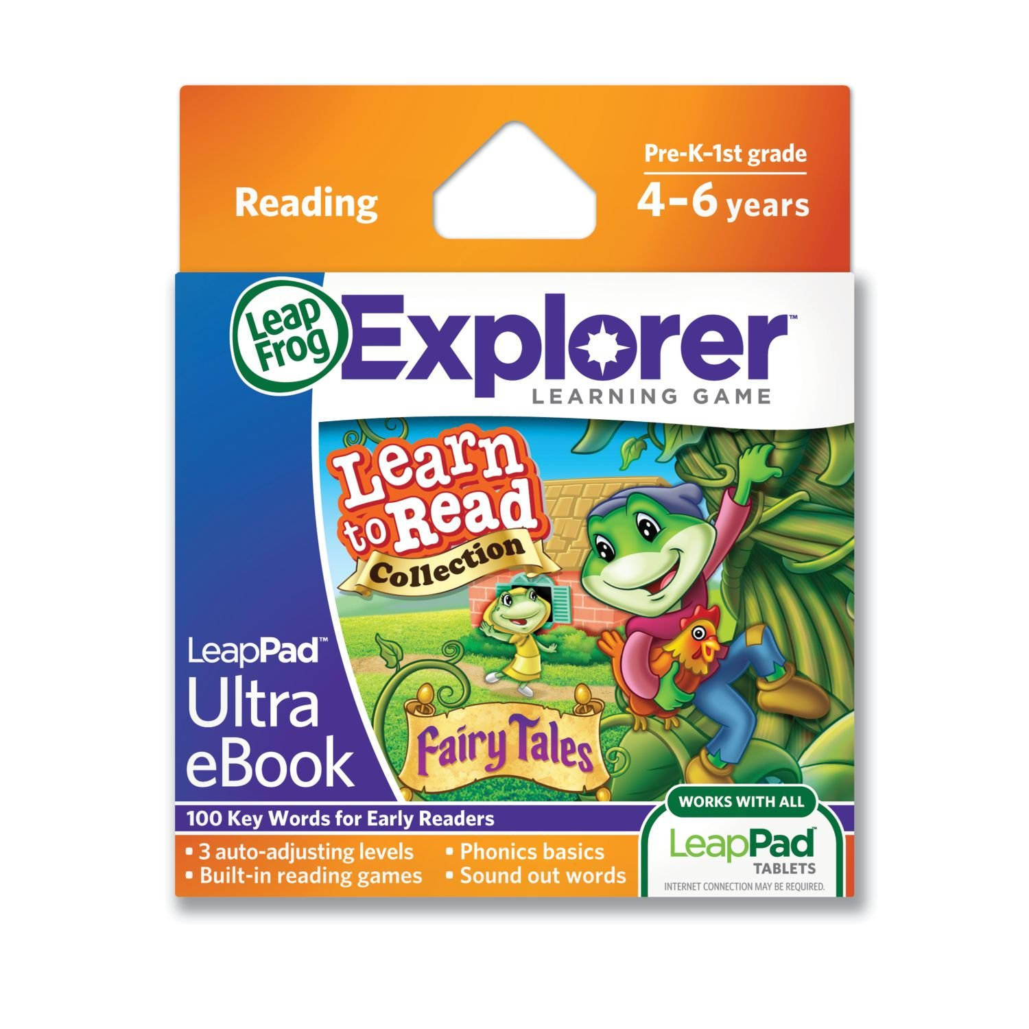 LeapFrog LeapPad Ultra eBook Learn to Read Collection: Fairy Tales (works with all LeapPad tablets) by LeapFrog