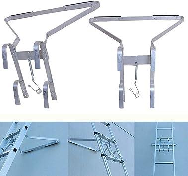 Autofather - Escalera universal con soporte en forma de I, accesorio para escalera, ayuda a que tu escalera sea más estable: Amazon.es: Bricolaje y herramientas