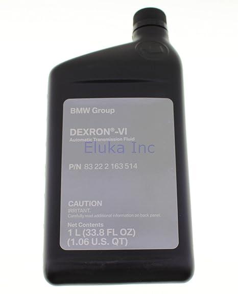Amazon com: BMW Genuine Fluid Change Automatic Transmission