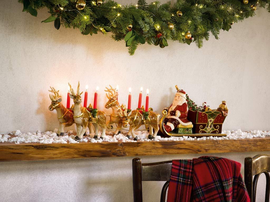 Villeroy & Boch 14-8602-5861 Abeto Grande con niños Christmas Toys Memory, Pintado a Mano, 30 cm, en Festivo Embalaje de Regalo, Porcelana, 25.0x25.0x40.0 ...