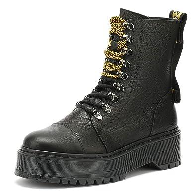 wholesale dealer 66923 fef5d Bronx Rifka Damen Schwarz Stiefel: Amazon.de: Schuhe ...