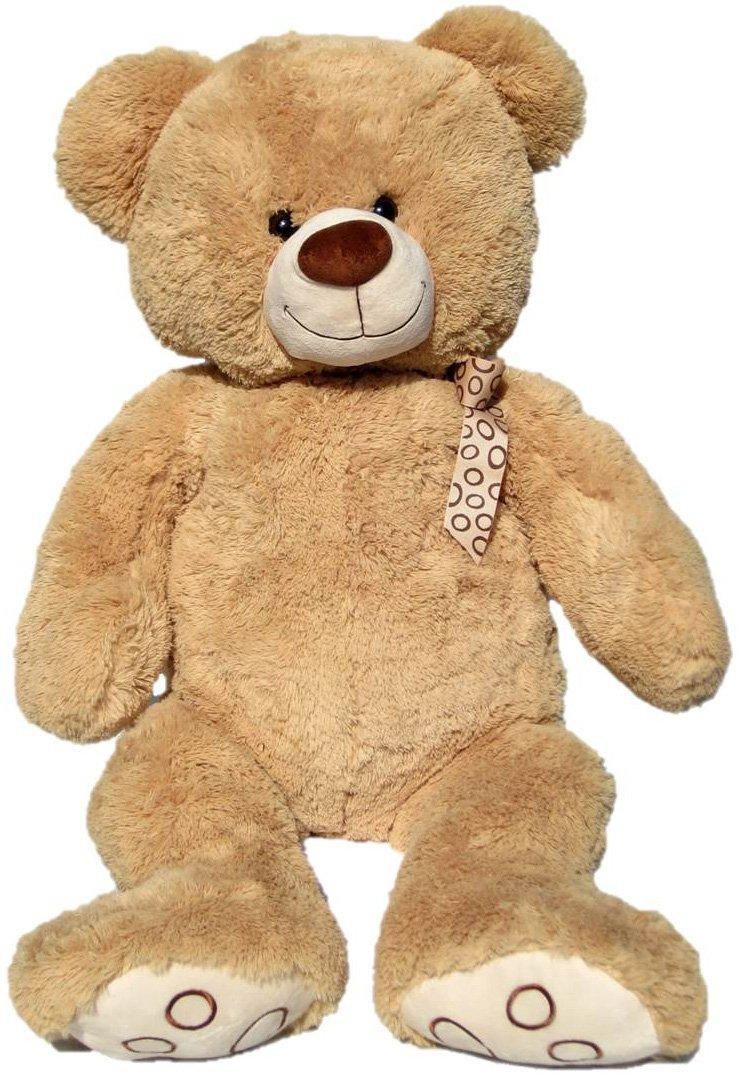Wagner 9015 - XXL Plüschbär Teddy Bär - 100 cm groß - hell-braun - Teddybär Kuschelbär Wagner·Stofftiere Teddys