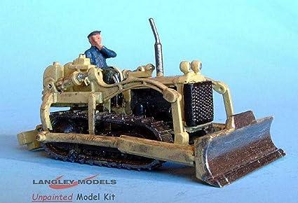 Amazon com: Langley Models International Harvester TD6 bulldozer 50s