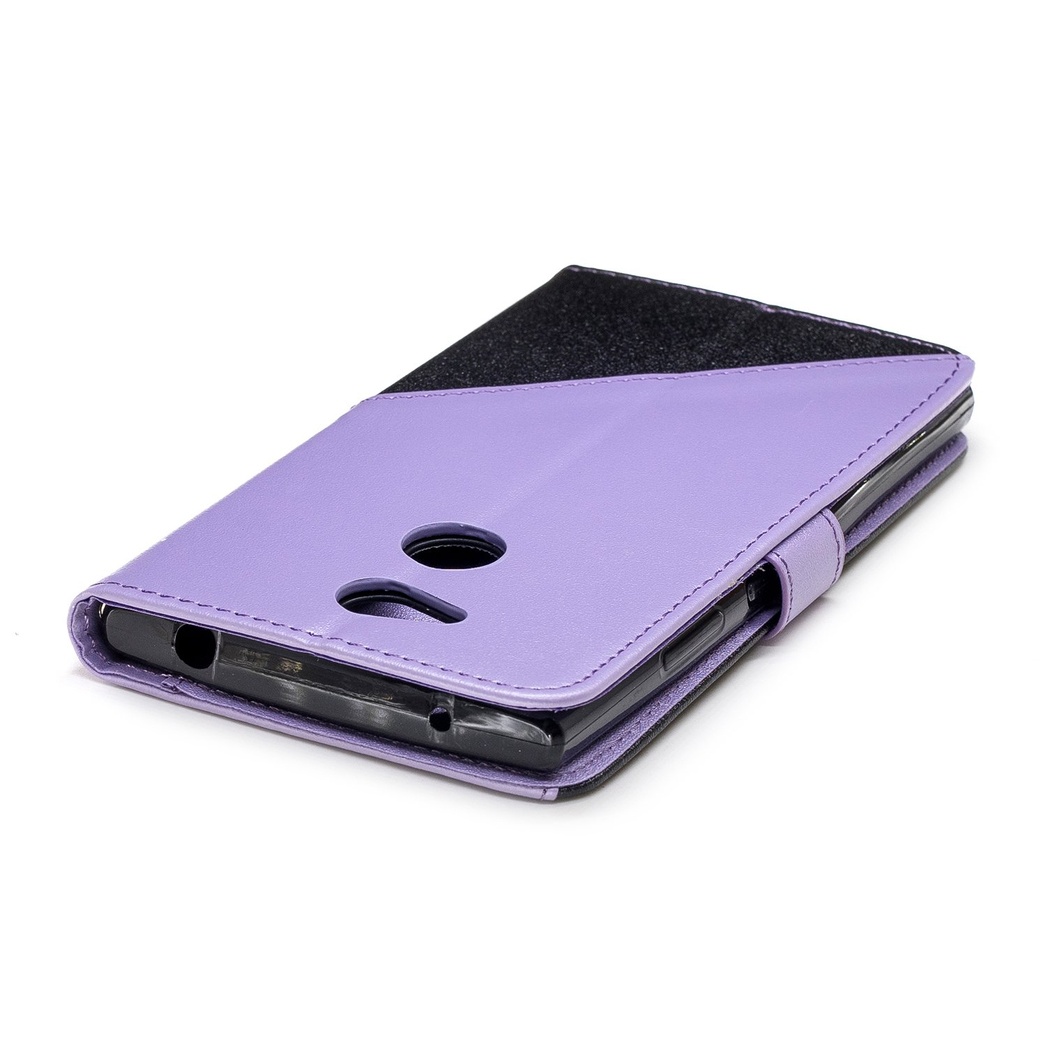 Sony L2 Case Slots PU Leather Ultra-Thin Protective Case Cover with Tripod Card Slot Case Thinest Sony L2 case