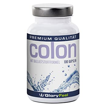 Colon, depurador intestinal; limpieza de la vida pura, 100 cápsulas naturales para una depuración intestinal, con L-lisina, espirulina y Chlorella.