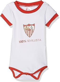 Sevilla CF 06BOD03-03 Bodsev Body, Bebé-Niños, Multicolor (Rojo/Blanco), 03: Amazon.es: Deportes y aire libre