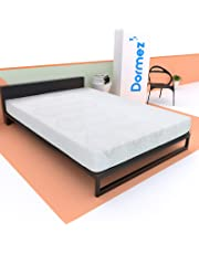 One, Colchón Híbrido con Memory Foam de Espuma viscoelástica y Unidad de resortes, Spring Steal and Air Memory Foam