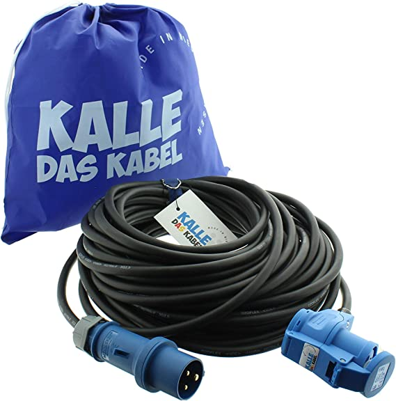 Cee Verlängerungskabel Winkelkupplung Campingkabel Wohnmobil Kabel Caravan Leitung H07rn F 3g 2 5mm 50 Meter Von Kalle Das Kabel Baumarkt