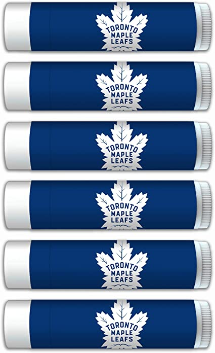Amazon Com Worthy Promo Nhl Toronto Maple Leafs Premium Lip Balm 6 Pack Nhl Gifts For Valentine S Day Easter Mother S Day Father S Day Stocking Stuffers Health Personal Care