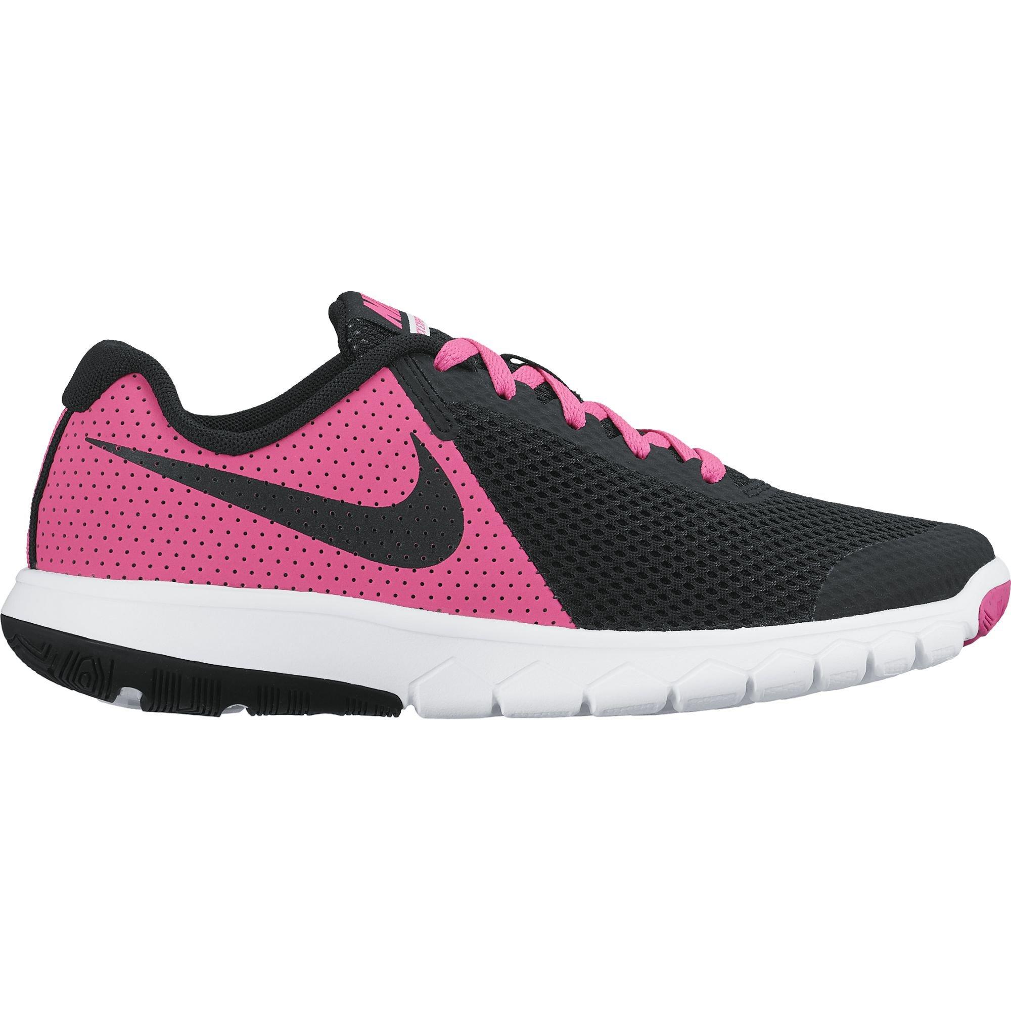 cheaper 3025e 71606 Galleon - Nike Girl s Flex Experience 5 (GS) Wide Running Shoe 6.5 Big Kid M,  Pink Blast Black White