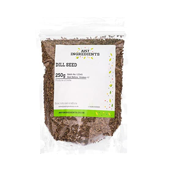 Premier Semillas de eneldo 1kg by JustIngredients: Amazon.es: Alimentación y bebidas