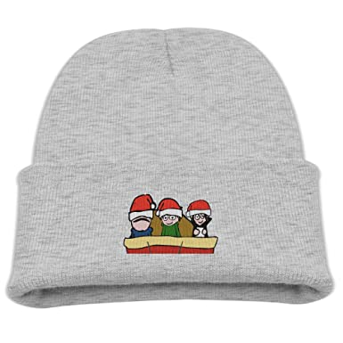 Eddsworld Edd Christmas Boys Warm Ash Skull Hat Beanies Cap