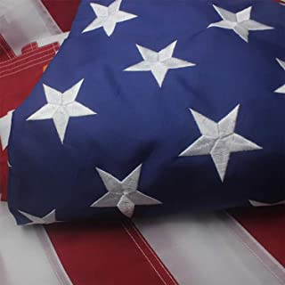 product image for Valley Forge Replacement Nylon Flag Embroidered Stars, Sewn Stripes Perma-Nyl 5' X 8' United States