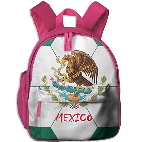 Image Unavailable. Image not available for. Color  Mexico Flag National  Emblem Soccer Green Kids School Backpack Cute Cool Print Bookbag For Girls  0e2db18a18a64