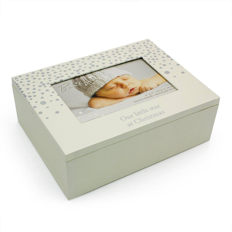 Baby Christmas Keepsake Box Little Little Star Baby Gift New WBL