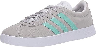repetir hijo Cien años  Amazon.com | adidas Originals Women's VL Court 2.0 Suede Skate Shoes |  Fashion Sneakers