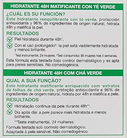 Garnier - Crema Hidratante 24H Hydra-Adapt para pieles mixtas a grasas