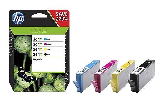 970 opinioni per HP 364XL Cartuccia Originale Getto d'Inchiostro ad Alta Capacità, Nero +
